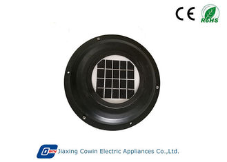 China ABS Brush DC Motor Solar Powered Trailer Roof Vent With 1W Solar Panel supplier