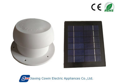 China CE RoHS Certificated 1.5W ABS Solar RV Vent Fan Weather Resistant For Fresh Air Vent supplier