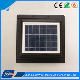China Anti - UV ABS 10W Solar Powered Roof Exhaust Fan With 500cfm Output Capacity supplier