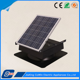 China Monocrystalline Panel Solar Roof Vent Fan , Solar Attic Exhaust Fans With Thermostat supplier