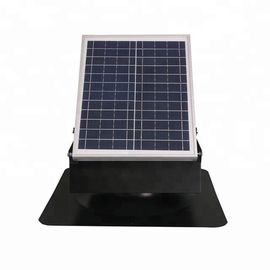 China 30W 9 Inch Solar Roof Ventilator All Metallic Construction For Shingle Roof supplier