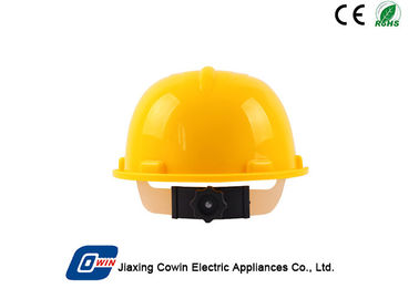 China Portable Solar Powered Accessories , Solar Safety Helmet With Fan 23*29*15cm supplier