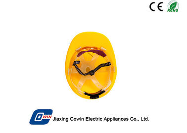 China Solar Panel Powered Safety Helmet With Fan To Exhaust Heat And Protect Head supplier