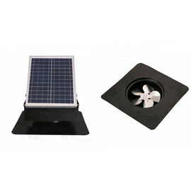 China Roof Mounted Solar Attic Vent Fan 1600 CFM Vent Ventilator Air With Battery supplier