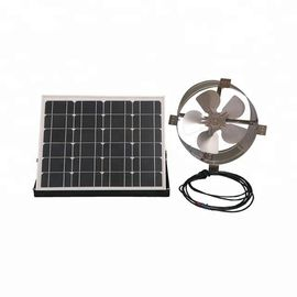 25W 12 Inch Solar Powered Gable Vent Fan Long Lifespan For Corrugated Steel Roof