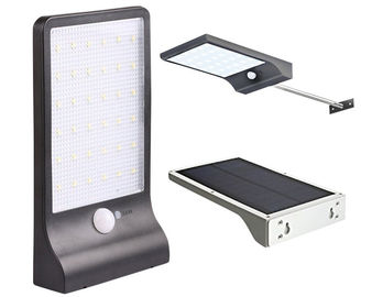 China 400 LM IP65 Solar Powered Outside Motion Lights With 36LEDS And Pole factory