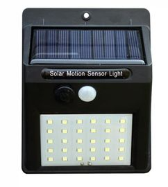 China Durable Solar Powered Led Security Motion Detector Outdoor Light 30LEDS IP65 factory