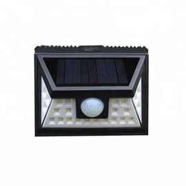 China 24 LEDS Solar Sensor Wall Light , Portable Solar Powered Outdoor Motion Lights factory