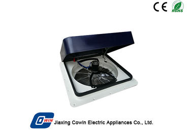 China Remote Control Solar Powered Trailer Vent Fan 12V With 1100 CFM Air Flow factory