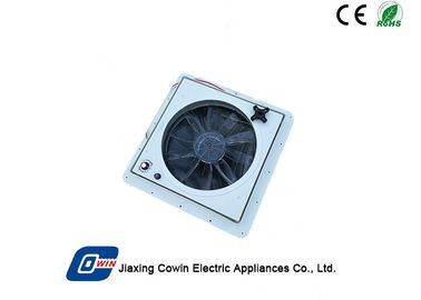 China Customized Small Solar Vent Fan , Solar Panel Vent Fan With Li - Ion Battery factory