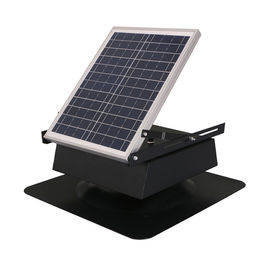 China Adjustable 30 Watt Solar Panel Attic Fan With Stainless Steel Body Material factory