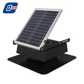 China 30 Watt Solar Powered Attic Ventilation Fans With Monocrystalline Solar Panel factory