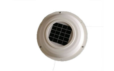 White Solar RV Vent Fan 3000rpm Rotation Rate 250CFM Max Output Capacity