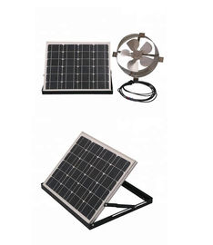 China 20w 12 In Solar Attic Vent Fan , Solar Powered Exhaust Fan For Home Use factory