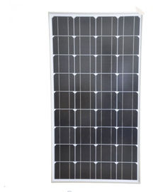 100W Siliver Corrugated Solar Power Panels , Mono Silicon Solar Panels For Outdoor Use
